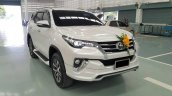 Toyota Fortuner Fiar FD-2LS (Luxury Sport) bodykit white front quarter Thailand