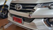 Toyota Fortuner Fiar FD2-L bodykit chrome grille Thailand