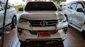Toyota Fortuner Fiar FD2-L bodykit white front Thailand