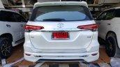 Toyota Fortuner Fiar FD2-L bodykit white rear Thailand