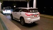 Toyota Fortuner Fiar bodykit white rear three quarter Thailand