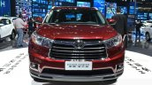 Toyota Highlander face 1 at the 2015 Shanghai Auto Show