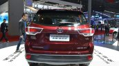 Toyota Highlander rear at the 2015 Shanghai Auto Show