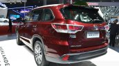 Toyota Highlander rear three quarters 1 at the 2015 Shanghai Auto Show