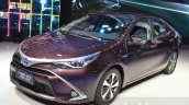 Toyota Levin HEV front three quarters at the 2015 Shanghai Auto Show