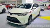 Toyota Vios front quarter at the 2015 Thailand Motor Expo