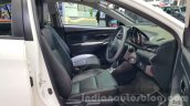Toyota Vios front seats at the 2015 Thailand Motor Expo