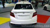 Toyota Vios rear at the 2015 Thailand Motor Expo