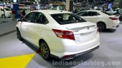 Toyota Vios rear quarter at the 2015 Thailand Motor Expo