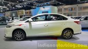 Toyota Vios side at the 2015 Thailand Motor Expo