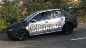 VW Ameo sub-compact sedan side snapped up close