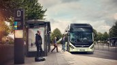 Volvo 7900 hybrid bus front official