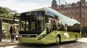 Volvo 7900 hybrid bus front three quarter official