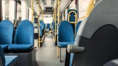 Volvo 7900 hybrid bus interior official