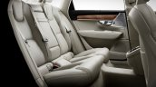 Volvo S90 rear seat unveiled
