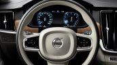 Volvo S90 steering unveiled