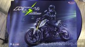 Yamaha M-Slaz brochure cover unveiled at 2015 Thailand Motor Expo