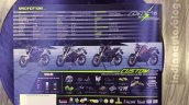Yamaha M-Slaz brochure rear page unveiled at 2015 Thailand Motor Expo