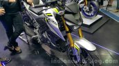 Yamaha M-Slaz grey front quarter unveiled at 2015 Thailand Motor Expo