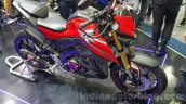 Yamaha M-Slaz red and black unveiled at 2015 Thailand Motor Expo