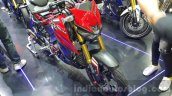 Yamaha M-Slaz red head lamp unveiled at 2015 Thailand Motor Expo
