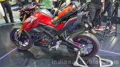 Yamaha M-Slaz red left side unveiled at 2015 Thailand Motor Expo