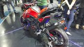 Yamaha M-Slaz red rear quarter unveiled at 2015 Thailand Motor Expo
