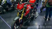 Yamaha M-Slaz red unveiled at 2015 Thailand Motor Expo