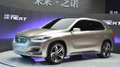 Zinoro Concept Next front three quarters 1 at 2015 Shanghai Auto Show