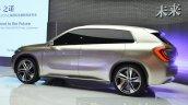 Zinoro Concept Next rear three quarters at 2015 Shanghai Auto Show