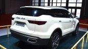 Zotye T600 S concept rear three quarters at the 2015 Shanghai Auto Show