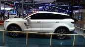 Zotye T600 S concept side at the 2015 Shanghai Auto Show