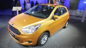 2015 Ford Figo front quarter at Auto Expo 2016