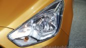2015 Ford Figo headlight at Auto Expo 2016
