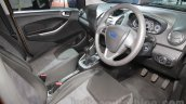 2015 Ford Figo interior at Auto Expo 2016