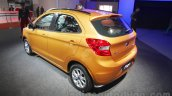 2015 Ford Figo rear quarter at Auto Expo 2016