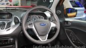 2015 Ford Figo steering at Auto Expo 2016