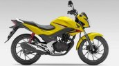 2015 Honda CB125F yellow side