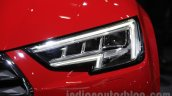 2016 Audi A4 headlamp at Auto Expo 2016