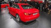 2016 Audi A4 rear three quarters at Auto Expo 2016