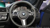 2016 BMW 3 Series (facelift) steering wheel