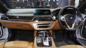 2016 BMW 7 Series dashboard at Auto Expo 2016