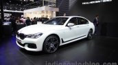 2016 BMW 7 Series front quarter at Auto Expo 2016