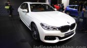 2016 BMW 7 Series front three quarter at Auto Expo 2016