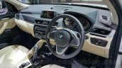 2016 BMW X1 interior at the Auto Expo 2016
