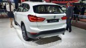2016 BMW X1 rear quarter at the Auto Expo 2016