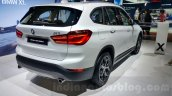 2016 BMW X1 rear three quarter at the Auto Expo 2016