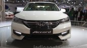 2016 Honda Accord Hybrid front at the Auto Expo 2016
