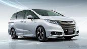 2016 Honda Odyssey Hybrid front three quarters