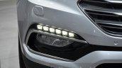 2016 Hyundai Santa Fe (facelift) LED DRL at 2016 Geneva Motor Show